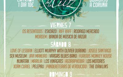Os Resentidos, Josele Santiago, Sex Museum, Christina Rosenvinge e Sr.Chinarro súmanse ao Festival de la Luz 2018