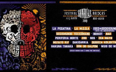 SÉS, Iseo & Dodosound, Hakuna Tanaka, Dubioza Kolektiv, Nius de nit y Som do Galpom se suman al cartel del SonRías Baixas