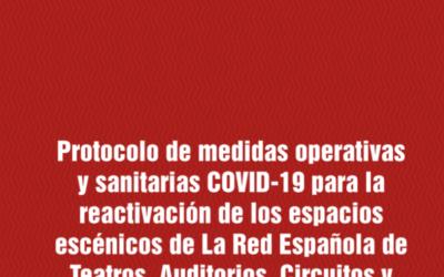 Os protocolos publicados por redescena para evitar contaxios por COVID-19 tamén son válidos para os festivais de titularidade privada