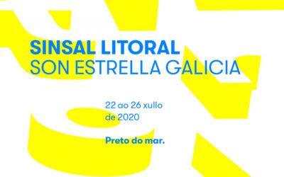 Sinsal Litoral SON Estrella Galicia: cinco días á beira do mar ao redor da música e do patrimonio natural e industrial