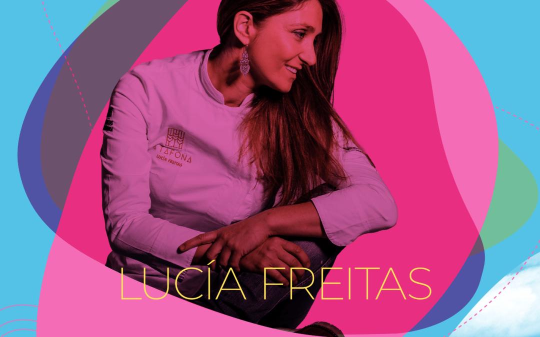 Lucía Freitas, unha proposta gastronómica con estrela en 17º Ribeira Sacra Festival